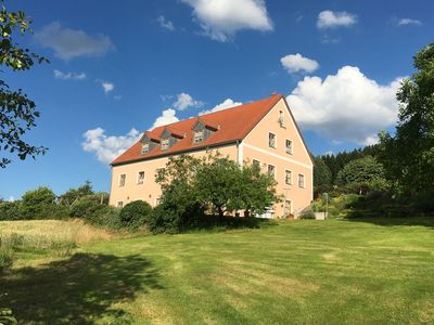 Photo for Unique holiday home, ideal as group accomodation, with lounge, a spacious garden, sauna and terrace