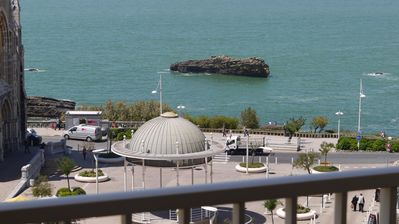 Photo for Special Offer Biarritz: Stunning Ocean View for Spacious Apartment