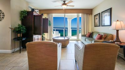 Photo for P3-1702 - 2B Gulf Front Condo in Tower 3 - Beach Chairs Included