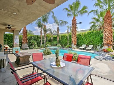 Photo for Palm Springs House w/Tropical Yard, Pool & Jacuzzi