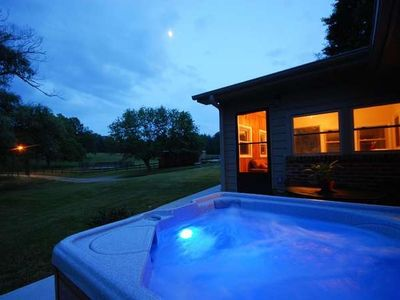 Photo for A Cottage at Willow Pond~17 Acres~Horses-Views-Hot Tub-Fireplace-Fishing