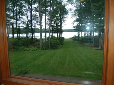 Photo for Catskills Lake Home, on2 acres, Hot Tub, private lake, near Casino, Bethel Woods