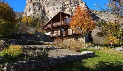 Photo for Chalet-ecrins, comfortable, in the mountains, on the edge of the Ecrins park