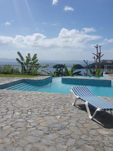 Lovely 3 Br, 3 Bath Condo with Spectacular View Overlooking Samana Bay, Pool