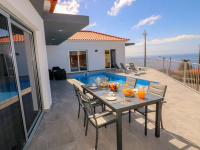 Photo for NEW - Special 2019 prices - Beautiful Modern Villa in Calheta – CalhetaScape