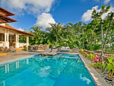 Photo for Pristine Ocean and Mountain View Home in Kukuiula