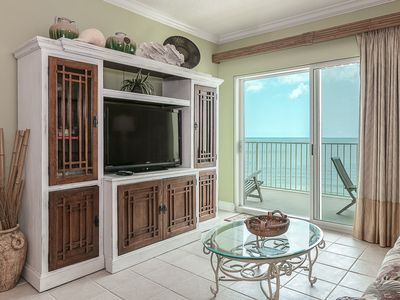 Photo for Amazing Condo, Gorgeous Gulf-Front View, Full Array of Amenities, Perfect for the Family!
