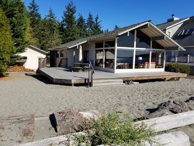 Photo for Gorgeous Sandy Beach - Mutiny Bay - Whidbey Island Beach House