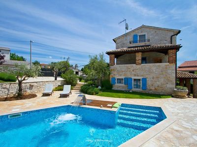 Photo for Beautiful Villa near Porec with private pool