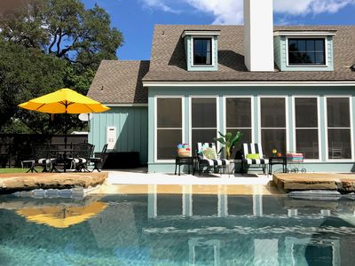Photo for The Perfect Place is JUST THAT! Private Pool and Spa, walk to everything.!