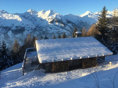 Photo for Lovely chalet in the forest- Les Arcs 1600