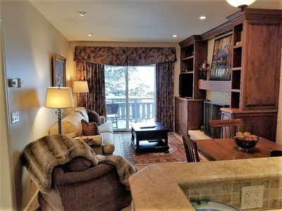Photo for WOW! $299! Heart Vail Fireplace Deck Prkg Washer Dryer walk to everything