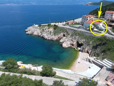 Photo for 2BR Apartment Vacation Rental in Vrbnik, island of Krk