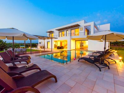 Photo for Modern, stylish villa with 3 bedrooms, private pool and amazing sea views