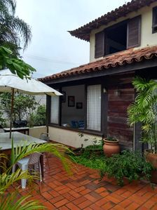 Photo for House in condominium with pool and sauna in Manguinhos beach