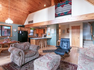 Photo for Delightful cabin experience off the beaten path. WIFI Hot Tub 30 mins to town