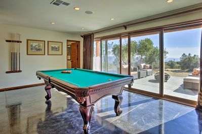 Reveal your inner pool shark before a trip to the Chukchansi Gold Resort & Casino -a short 10-minute drive away!