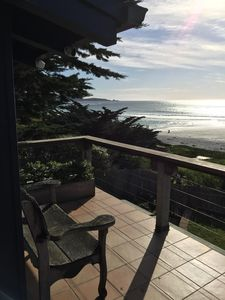 Photo for Charming post adobe beachside home with deck and stunning beach & ocean views.
