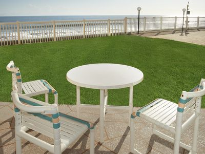 Photo for Direct Oceanfront – Ground floor with excellent views
