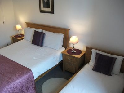 Photo for Au Bon Accueil 3.  Triple room with private facilities near to Mont St Michel.