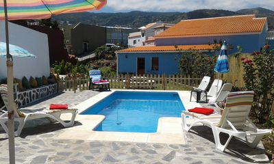 Photo for Casita TeideMar with pool and barbecue