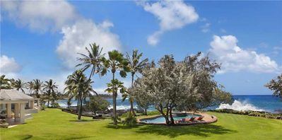 Photo for Spectacular Poipu Oceanfront Home: A/C in Master with Private Pool & Hot Tub