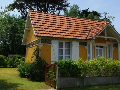 Photo for Small house of the 30 located 300m from the beach, classified 3 stars.