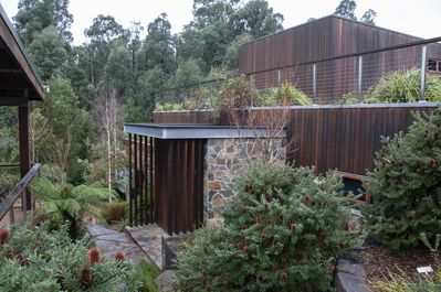 AMAZING! - front entry and roof garden on top