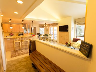 Photo for 5 Star Luxury Girdwood Condo w/ Sauna & Stunning View, Walk 1 Block to Slopes!