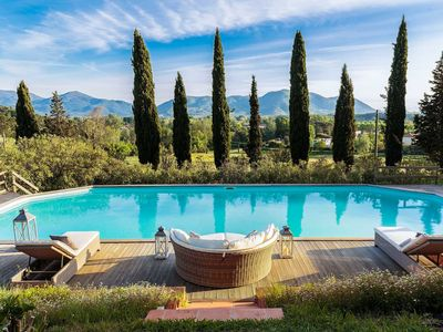 Photo for VILLA AMICO, charming indulgence overlooking Lucca Town Centre