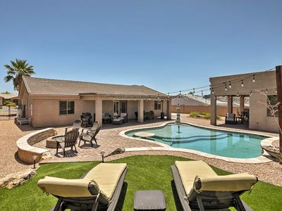 Photo for Family Home w/Pool&Casita-Minutes from Lake Havasu