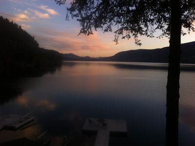 Photo for English Cove Waterfront Chalet on Christina Lake BC