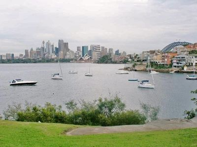 Photo for THE ULTIMATE EXPERIENCE-WATERFRONT APARTMENT WITH AMAZING SYDNEY HARBOUR VIEWS