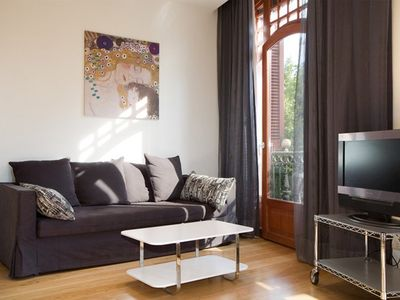 Photo for Apartment in the center of Barcelona with Internet, Lift, Washing machine (443086)