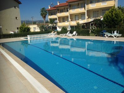 Photo for A spacious villa 100 metres from the sea with 2 swimming pools in lovely grounds
