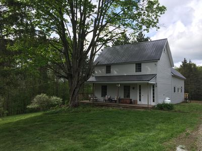Photo for Country Paradise remodeled farmhouse on 123 Acres to enjoy.