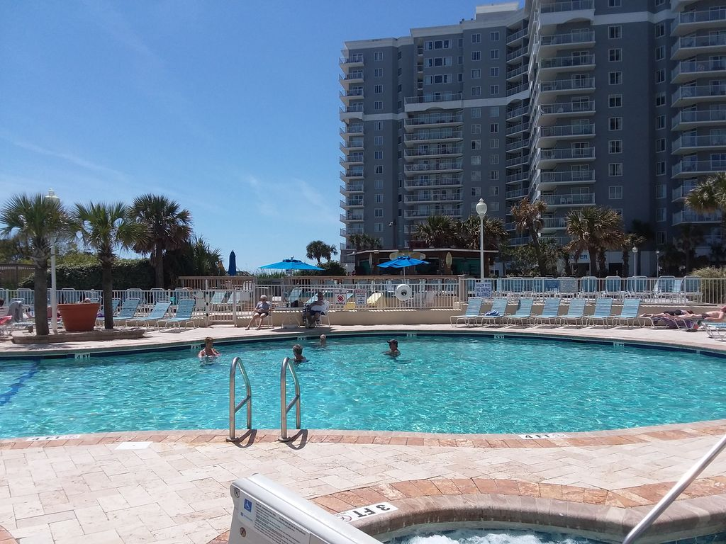 New! Oceanfront 1 BR Condo at Sea Watch Resort w/ Pools, Hot Tubs, Lazy Rivers!!