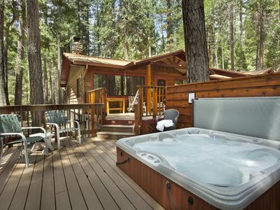 s national rentals vacation homes enchanted rental yosemite cub in cabins p forest cabin park