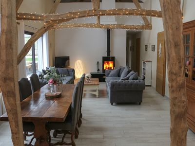 Photo for Luxurious Converted Barn with Stunning Views, Large Garden including Hot Tub