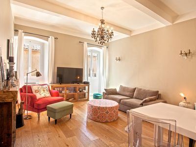 Photo for Casa Isula, apartment in downtown of l'Ile-Rousse