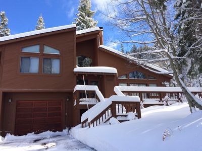 Photo for (CUSTOM CABIN WITH THREE MASTER SUITES) FAMILY FRIENDLY NEAR SKI RESORTS