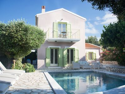 Photo for Villa with Private Pool Built with Traditional Kefalonian Architecture
