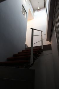 Stairway entrance inside the apartment