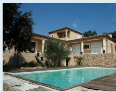 Photo for Villa near Uzès and Nimes 4 bedrooms 2 bathrooms and pool