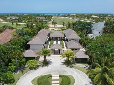 Photo for Golf front 6 BDR luxury villa w/ ocean view and private pool at exclusive resort