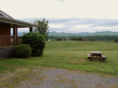 Photo for Luxury Cabin @ River's Bend Ranch; river access & trail rides available on site.