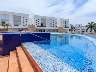 Photo for BEAUTIFUL PENTHOUSE WITH JACUZZI CLOSE TO THE BEACH