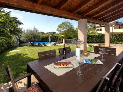Photo for Modern Villa just 3,5 km away from Porec with private pool, WiFi