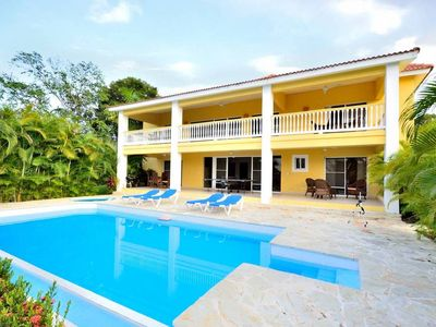 Photo for A four bedroom and four and a half bathroom home is perfect for bringing the ones you care most about down to paradise with you to enjoy quiet time and make memories in Puerto Plata.