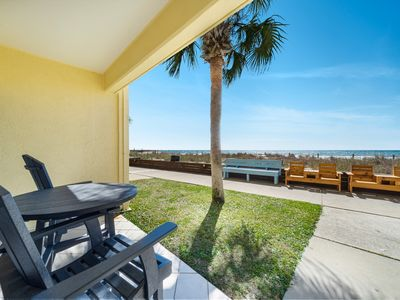 Photo for New Listing! Vacation memories await at this charming beach front condo!